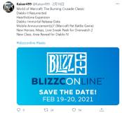 网曝《暗黑2》重制版、《暗黑:不朽》发售日将公布