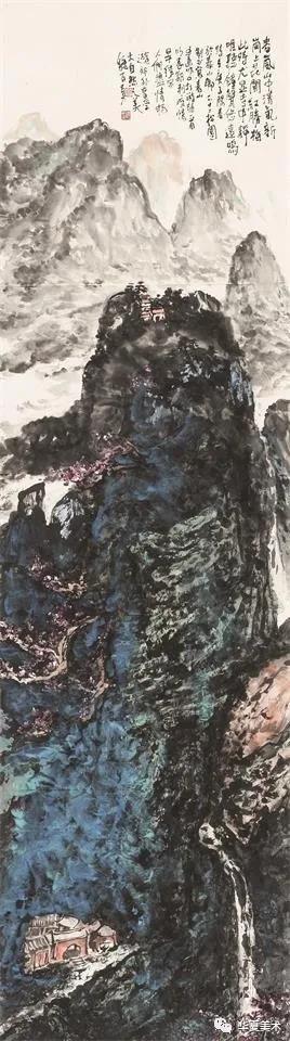 寄情山水 安放心灵——著名画家魏百勇山水画作品赏析