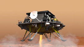 震撼大片! 天问着陆火星全程