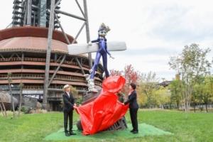 冬奥会公共艺术作品全球征集最佳作品揭幕