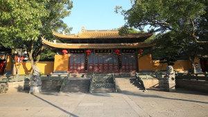 普陀山第一大寺院:普济禅寺