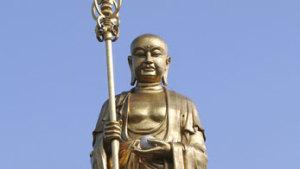 九华山地藏菩萨露天大铜像