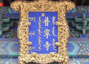 习近平河北行丨走进世界文化遗产 承德普宁寺
