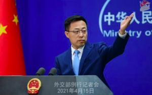 赵立坚:请日本政客用核废水饮用、做饭