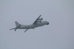 台防务部门:解放军2架次反潜机7日进入台西南空域