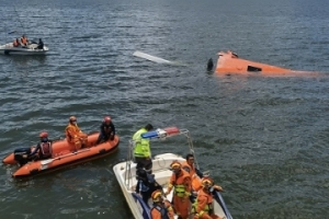 洱海直升机分析:破损型事故,飞行员壮烈!