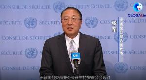 各国常驻联合国代表就当前巴以冲突发表共同谈话