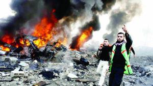 黎巴嫩向以色列发射六枚炮弹 以军予以还击