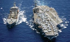 东盟防长会前 美国航母打击群进入南海