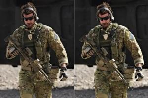 澳军发布特种兵在阿富汗作战照 却把这个标志P掉了