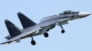 俄军苏35战机坠毁 系量产型苏35首次因事故坠毁