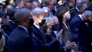 """""""9·11""""20周年纪念日当天,威尼斯人手机版多地举行默哀"""