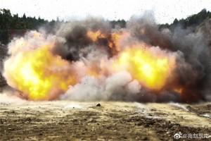场面炸裂!直击工兵超燃实爆训练现场