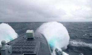 每日军情|055驱逐舰担任海上联合军演指挥舰