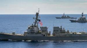 """美国海军在亚太四处""""挑事""""意欲何为"""