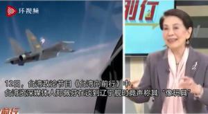 """台湾省节目嘉宾:相比美国航母,辽宁舰""""像玩具"""""""