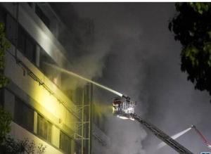 上海一企业厂房火灾致8人亡 含2名消防员