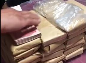 小学生姐弟遛狗时捡到51万元交给警察!全网点赞