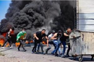 约旦河西岸10名巴勒斯坦人被以军杀害