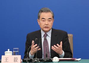 王毅谈巴以冲突:美国站在了国际正义的对立面