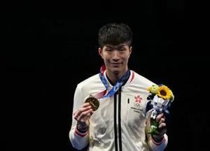 林郑月娥祝贺张家朗在东京奥运会勇夺金牌