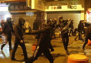 香港一男子因暴动及拒捕等罪名被判监禁4年9个月