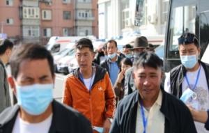 西藏基层干部赴京参观学习班学员参加体检