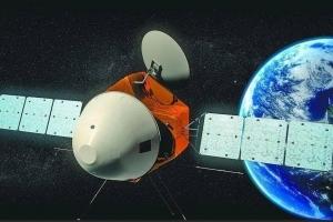 天问一号探测器进入日凌阶段