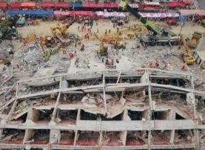 福建泉州酒店坍塌致29死50伤 一审20人获刑