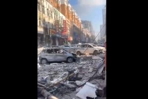 沈阳燃气爆炸现场搜救结束 事故造成5人死亡
