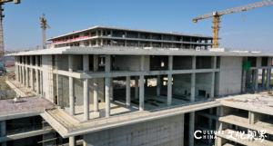 山东唯一考点,中央美院青岛大学生创业基地项目完成主体建设