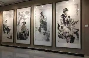 到人民中去——著名画家孔维克携《工农兵人物写生组画》等作品走进河南兰考