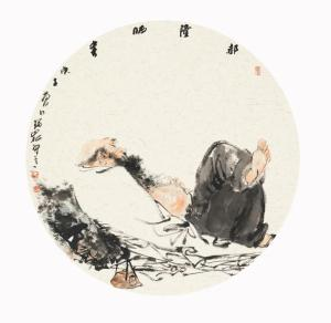 渊雅静穆 高古清逸——评著名画家杨瑞嵩人物画的独特风格