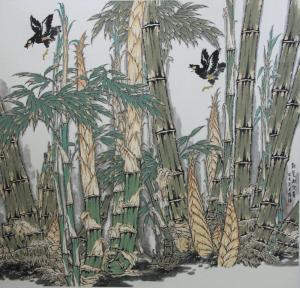 书生意气笔纵横——著名画家韩玮的写意花鸟艺术