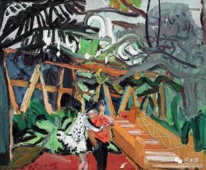 以光线渲染,以色彩抒情——品著名画家闫平的油画艺术