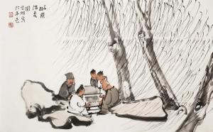 以书开启心性,以字磨炼功夫——著名画家李学明谈读书、写字
