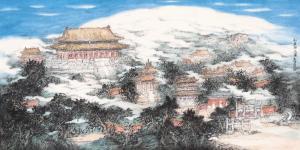 青年画家刘明谈画①:当代水墨山水画的笔墨精神