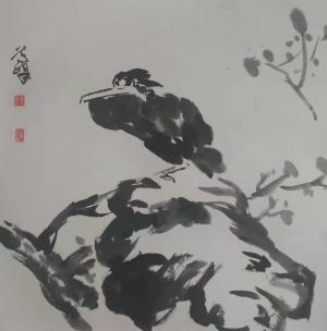 着墨不多,意境深远——文人画家蒿峰水墨画体现出的宁静心境与守正风范