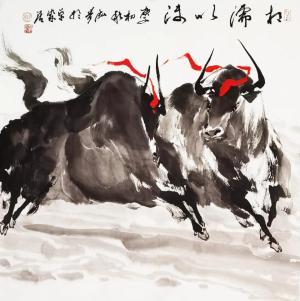 立足当代 回向传统——著名画家泓青的绘画艺术管窥