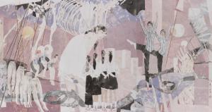 青年画家岳小飞:在中西方艺术之间,找到最适合自己的表达方式