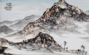 动静皆宜,巧妙有趣——青年画家韩斌动静结合的山水韵味