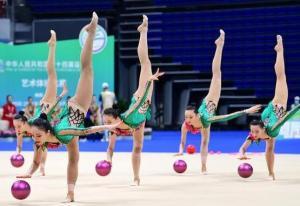 全运会:联合队获艺术体操集体全能冠军
