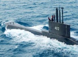 印尼一艘载有53人的潜艇在巴厘岛以北海域失踪