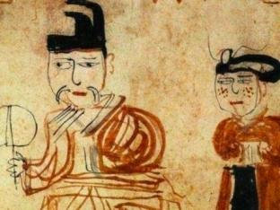 从吐鲁番出土的《墓主人生活图》遥望天上人间