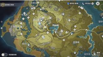 原神甘雨突破材料清心采集地图位置地点 原神甘雨突破材料数量方法介绍