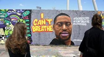 """""""我无法呼吸""""——弗洛伊德案引发全美反种族歧视抗议浪潮"""