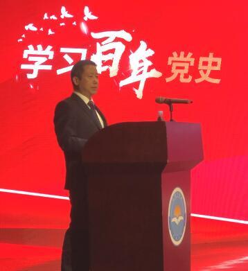 周海江:学党史,传承红色基因,加快完善中国特色现代企业制度