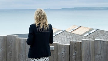 Message in a jacket: Jill Biden offers 'love' during UK trip