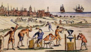 工商发达的强国才能搞殖民?殖民地的鼻祖就是没地种的欧洲农民
