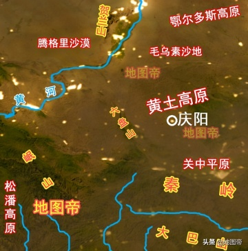 航拍庆阳西峰机场,距市中心太近了,只有8公里